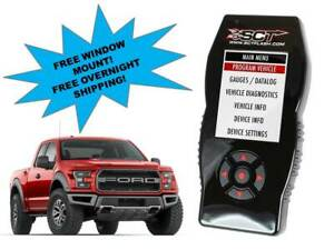 Sct X4 7015 Tuner Programmer For 2017 2018 Ford F 150 Raptor With 3 5 Ecoboost