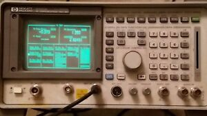 Hp 8290a Communications Analyzer 4934a Tims Line Test Set