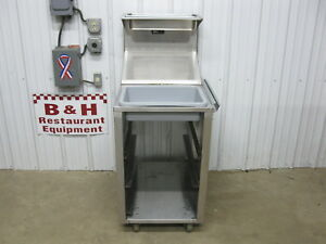Bki Bk Industries Bt 22 mk Stainless Mobile Breading Table Prep Station Cabinet