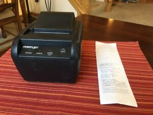 Posiflex Pp8000 Series Thermal Pos Receipt Printer pp 8000b used 1