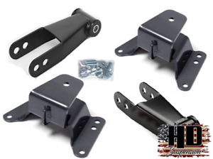 Gmc Chevy C10 1973 1987 4 Drop Kit Leveling Lowering Shackles Hangers