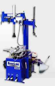 New Blue Baseline By Coats 500 Usa Tire Changer Rim Clamp Machine 10 26 Roboarm