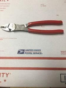 Snap On Red Terminal Crimping cutter Pliers