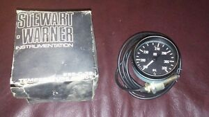 Nos Vintage Stewart Warner 2 5 8 Oil Temperature Gauge 285 C 72 Very Nice