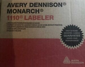 Lot Of 4 Bnib Avery Dennison Monarch 111005 8 Position Price Gun Date Labeler