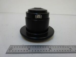 Microscope Part Zeiss Germany Phase Condenser Optics As Is Bin s5 85