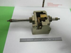 Microscope Part Polyvar Reichert Leica Stage Mechanism As Is Bin p1 16