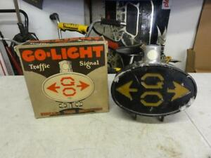 Vintage 1920s 1930s Go light Fender Mounted Turn Signal Ford Model A Motorcycle