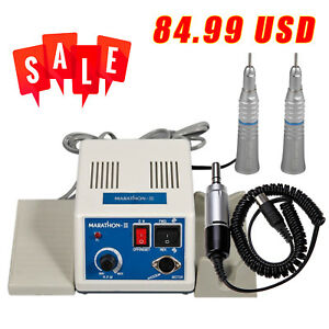 Usa Dental Marathon Micro Motor Electric Motor 35k Rpm 2 Straight Handpiece