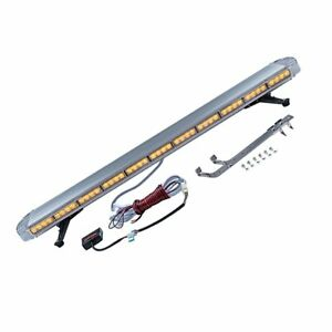 Amber 51 Inch 96 led Emergency Warning Construction Strobe Light Bar Tow Truck