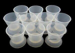 50 flexible Dental Lab Silicone Mixing Bowl Cup Dappen Dish Small 5ml Wb
