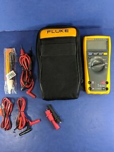 Fluke 177 Trms Multimeter Good Condition Screen Protector Soft Case