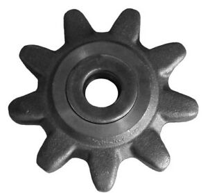 9 Sprocket Assembly shaft nut 140654 180448 105313 Ditch Witch Trencher