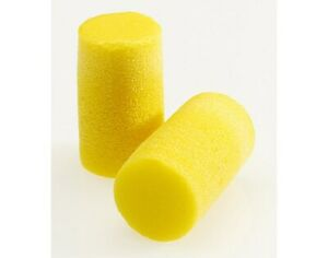 3m 310 1101 Ear Plugs 33db Noise Reduction Rating Nrr Uncorded yellow Pk 200