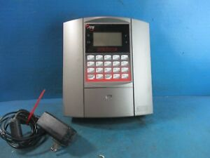 Ats Maximus Biometric Empower Time Clock With Adapter No Key Used