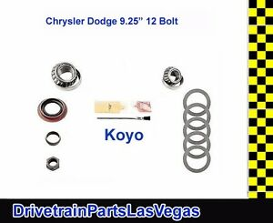 Usa Standard Dodge Chrysler 9 25 Rear End Pinion Install Kit Koyo Bearings Oe