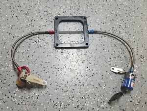 Nos 32 Hole Nitrous Plate For 4500 With Solenoids