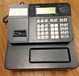 Missing Key Casio Sm t274 Thermal Print Cash Register