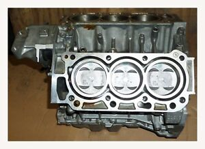 Engine Block W Pistons 2008 2012 Honda Accord Coupe V6 3 5l J35z3 10002r72 a00