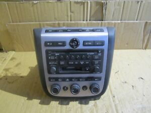2004 2005 Nissan Murano Radio Receiver Am Fm Cassette 6 Disc Changer Oem Tested