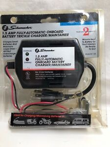 Schumacher Fully Automatic Onboard Battery Trickle Charger Maintainer Se 1 12s