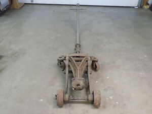 Antique vintage Automotive Floor Jack