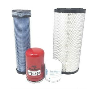 Kubota Svl90 2c Svl95 2 W V3800 Eng Maintenance Filter Kit Fs