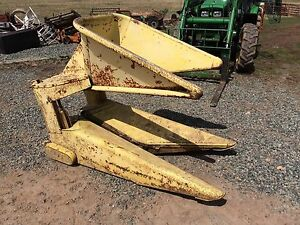 John Deere 1rw Silage Forage Harvester Head One Row 34 35 38 3800 Chopper