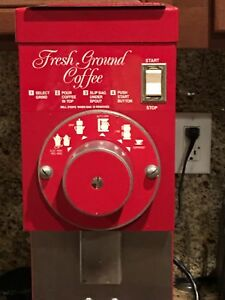 Excellent Grindmaster 825 Red Commercial Bulk Coffee Grinder 115v