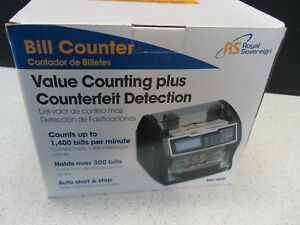New Royal Sovereign Money Counting Machine High Speed Bill Counter Rbc 4500
