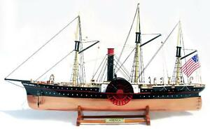 Ss Central America Ship Model 26 Handcrafted Wooden Fully Assembled