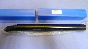 1 Accusize S16t sclcr3 P252 s408 1 X 12 Long Indexable Boring Bar W insert