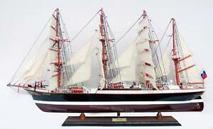 Sedov Tall Ship Model 37 Handcrafted Wooden Model New