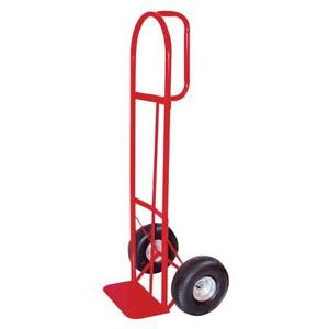 Milwaukee 800 lb Capacity Red Steel Heavy Duty Hand Truck