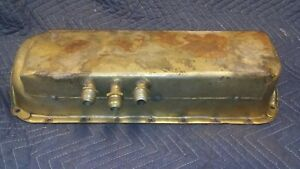 Sbc Vintage Phil Henny Racing Dry Sump Oil Pan Small Block Chevy Dry Sump Pan