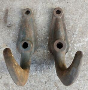 Vintage Heavy Duty Large Vehicle Tow Hooks For Truck Car Tractor Farm Snow