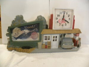 Vintage Burwood Coca Cola Clock