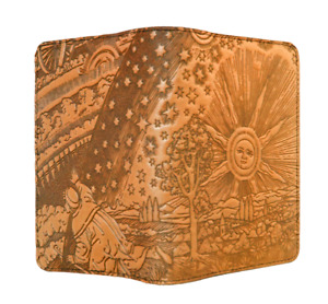Roof Of Heaven Oberon Design Custom Leather Pocket Moleskine notebook Cover