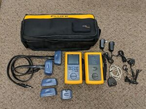 Fluke Networks Dsp 4300 Cable Analyzer Cat6 Class E Excellent