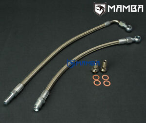 Mamba Td04lr Turbo Water Coolant Line Hose For Dodge Neon Srt 4 Pt Cruiser 2 4l
