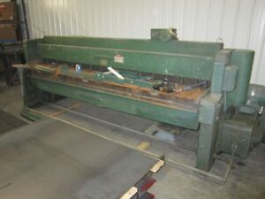 Wysong 10 Ft X 10 Ga Mechanical Shear