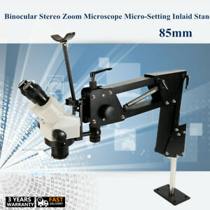 Stereo Zoom Microscope And Micro Inlaid Microscope Micro setting Jewelry Tool Us