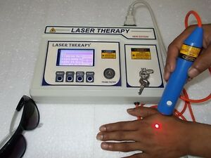 New Chiropractic Computerised Laser Therapy Machine Advanced Software Unit