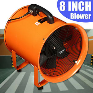 8 Exhaust Fan Blower Ventilator Extractor Industrial Garage High Rotation Fan