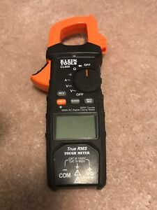 Klein Tools Cl600 True Rms Tough Meter