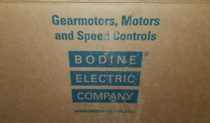 New Bodine Electric Company Gear Motor 42a5bepm Hp 1700 Rpm