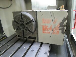 Haas Hrt 210 Programmable Rotary Table With Brushless Sigma 1 Drive Motor