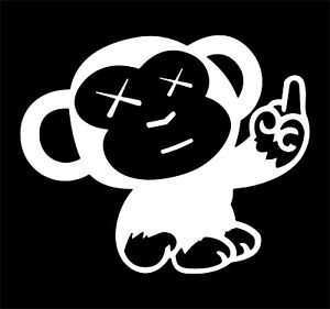 Monkey Middle Finger Jdm Funny Vinyl Decal Sticker Car Truck Window
