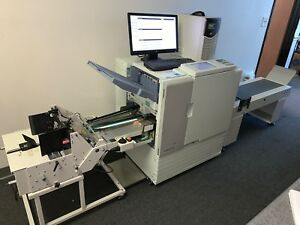 Riso Comcolor 3010 W Comcolor Express Is900c Rip Envelope Streamfeeder Conv