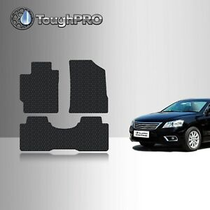 Toughpro Floor Mats Black For Toyota Camry All Weather Custom Fit 2007 2011